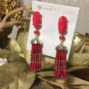Kendra Scott Dove Fashion Dangle Earrings NWT